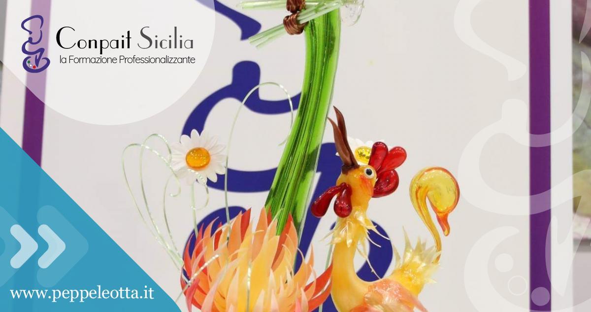 Zucchero Artistico Peppe Leotta Corsi di Pasticceria Alta Formazione Conpait Sicilia